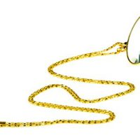 """upvoted.top:SE MG2015G 5.5x Magnifier Pendant with 1.75"""" Glass Lens Dia. & 36"""" Gold Chain Necklace"""