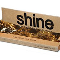 upvoted.top:Shine 24K Gold Rolling Papers 12 Sheet Pack