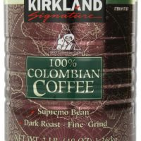 upvoted.top:Signature 100% Colombian Coffee Supremo Bean Dark Roast-Fine Grind