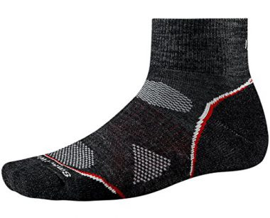 upvoted.top:Smartwool Men's PhD Outdoor Light Mini Socks (Charcoal) Large- Past Season