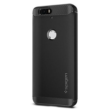 upvoted.top:Spigen Rugged Armor Nexus 6P Case with Resilient Shock Absorption and Carbon Fiber Design for Nex...