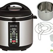 upvoted.top:Stainless-steel Cooking Pot/ 6-in-1 Electric Pressure Cooker/Slow Cooker (8 QT)