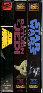upvoted.top:Star Wars Trilogy Giftpack [VHS]
