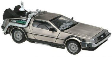 upvoted.top:Sun Star 1:18 Diecast Model Delorean Time Machine