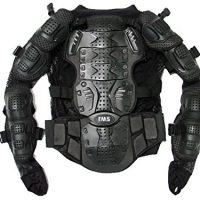 upvoted.top:TMS Motorcycle Full Body Armor Protector Pro Street Motocross ATV Jacket Shirt (Large)