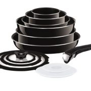 upvoted.top:Tefal (T-Fal) Ingenio (Non Induction) 13 Piece Enamel Pan Set with Detachable Handles