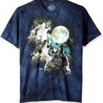 The Mountain Three Wolf Moon Short Sleeve T-Shirt