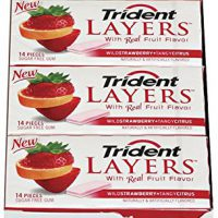 upvoted.top:Trident Layers Sugar Free Gum (Wild Strawberry & Tangy Citrus