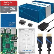 upvoted.top:Vilros Raspberry Pi 3 Complete Starter Kit - Clear Case