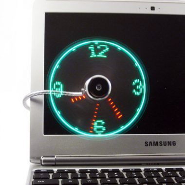 upvoted.top:Vodcart USB LED Fan Clock