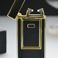 upvoted.top:Windproof Flameless Electronic Pulse Arc Cigarette Lighter USB Charging Cigar Lighter Rechargeabl...