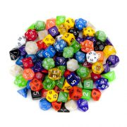 upvoted.top:Wiz Dice Random Polyhedral Dice in Multiple Colors (100 + Pack) Bundle with Wiz Dice Pouch