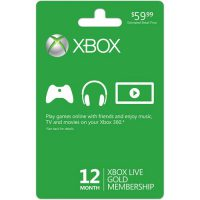 upvoted.top:Xbox LIVE 12 Month Gold Membership Card