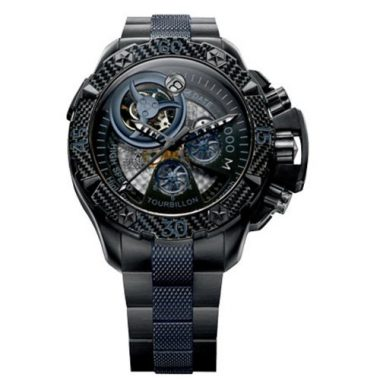 upvoted.top:Zenith Men's 96.0529.4035/51.M Defy Xtreme Tourbillon Titanium Chronograph Watch
