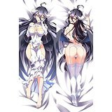 upvoted.top:linlinda Dakimakura pillow case:Hugging Body Pillow Cover 150*50 MGF OVERLORD albedo 510029